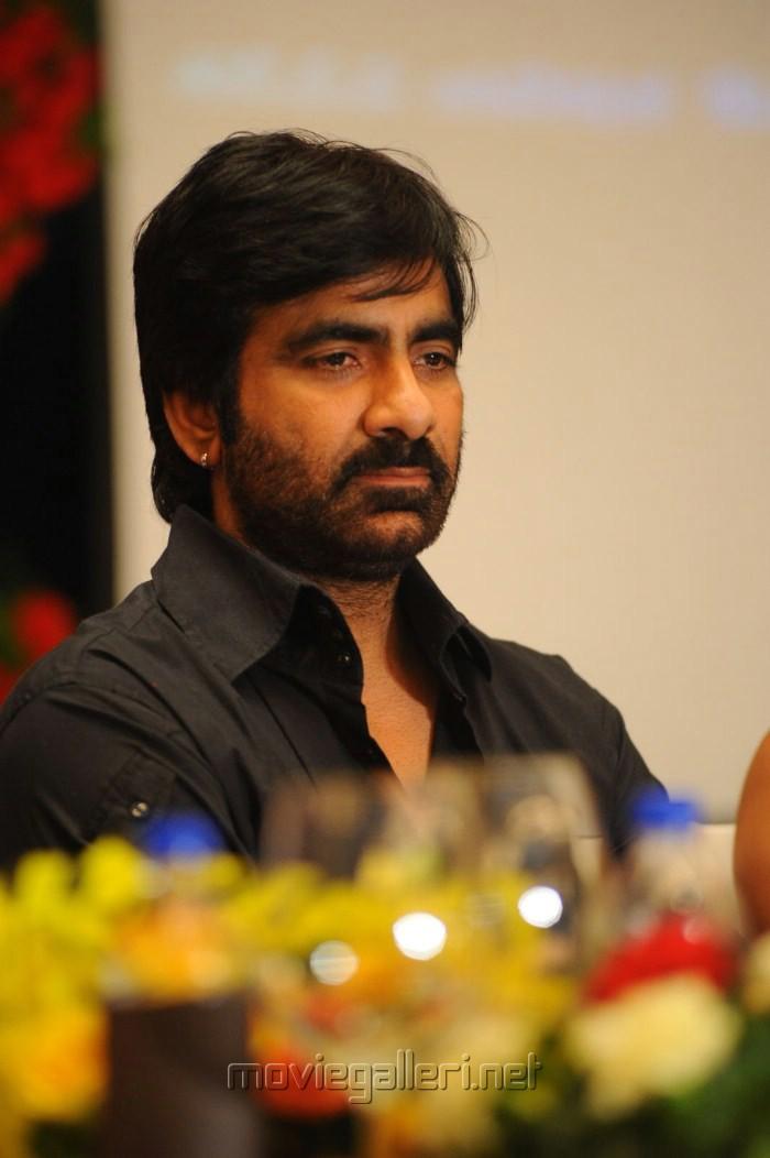 Actor Ravi Teja at Balupu Movie Logo Launch Photos