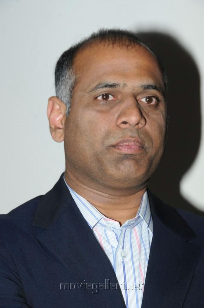 Producer Prasad Vara Potluri at Balupu Movie Success Meet Stills