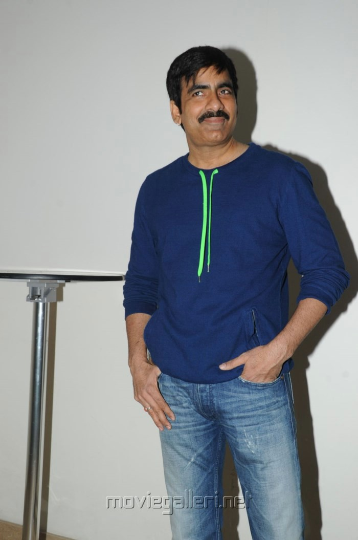 Actor Ravi Teja at Balupu Success Meet Stills