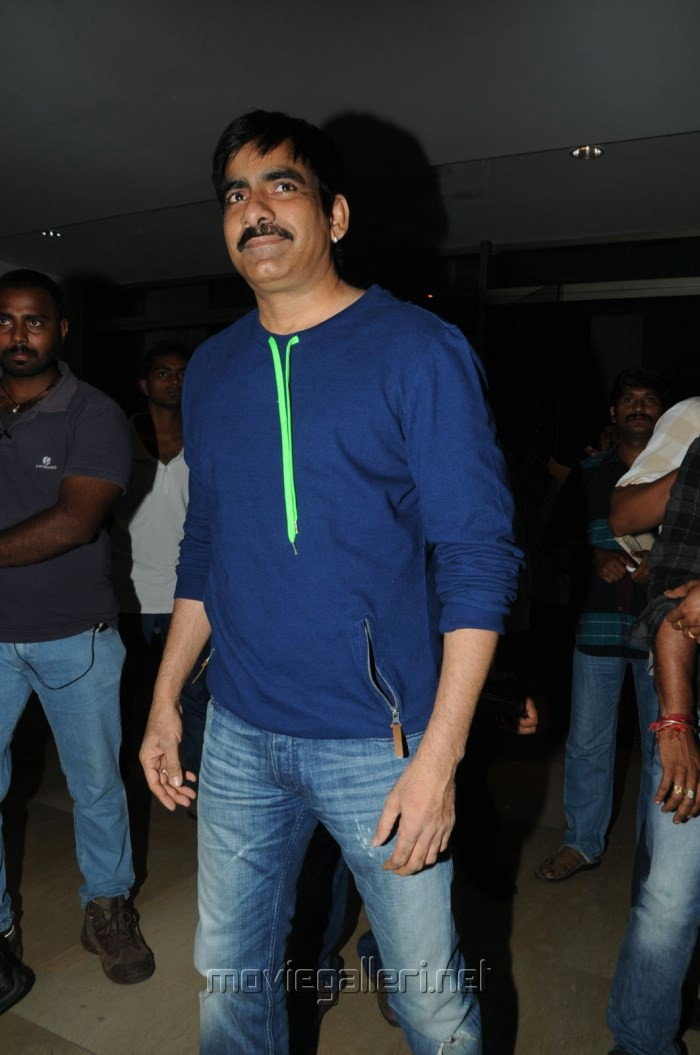 Actor Ravi Teja at Balupu Movie Success Meet Stills