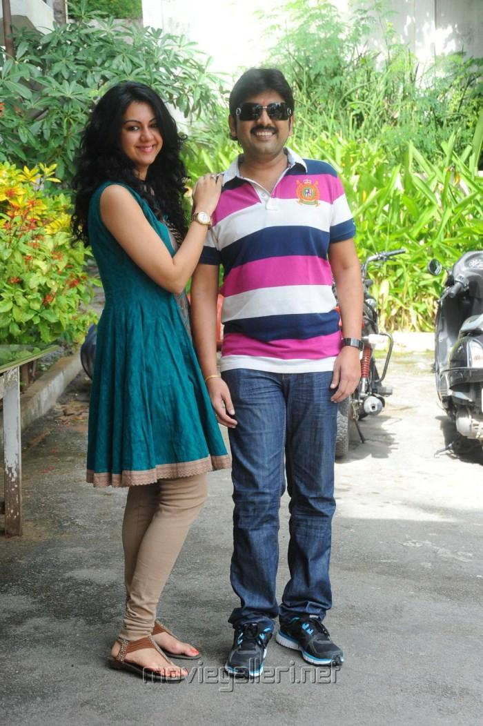 Kamalakar, Kamna at Band Balu Movie Opening Stills