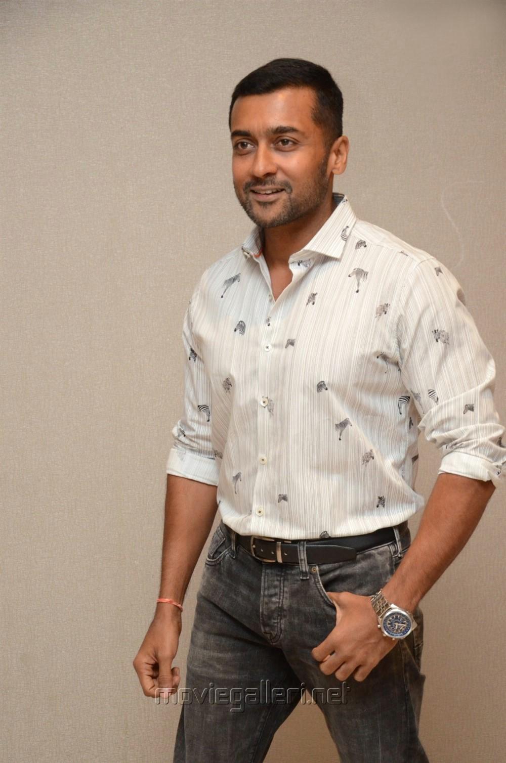 Actor Suriya Images @ Bandobast Movie Interview