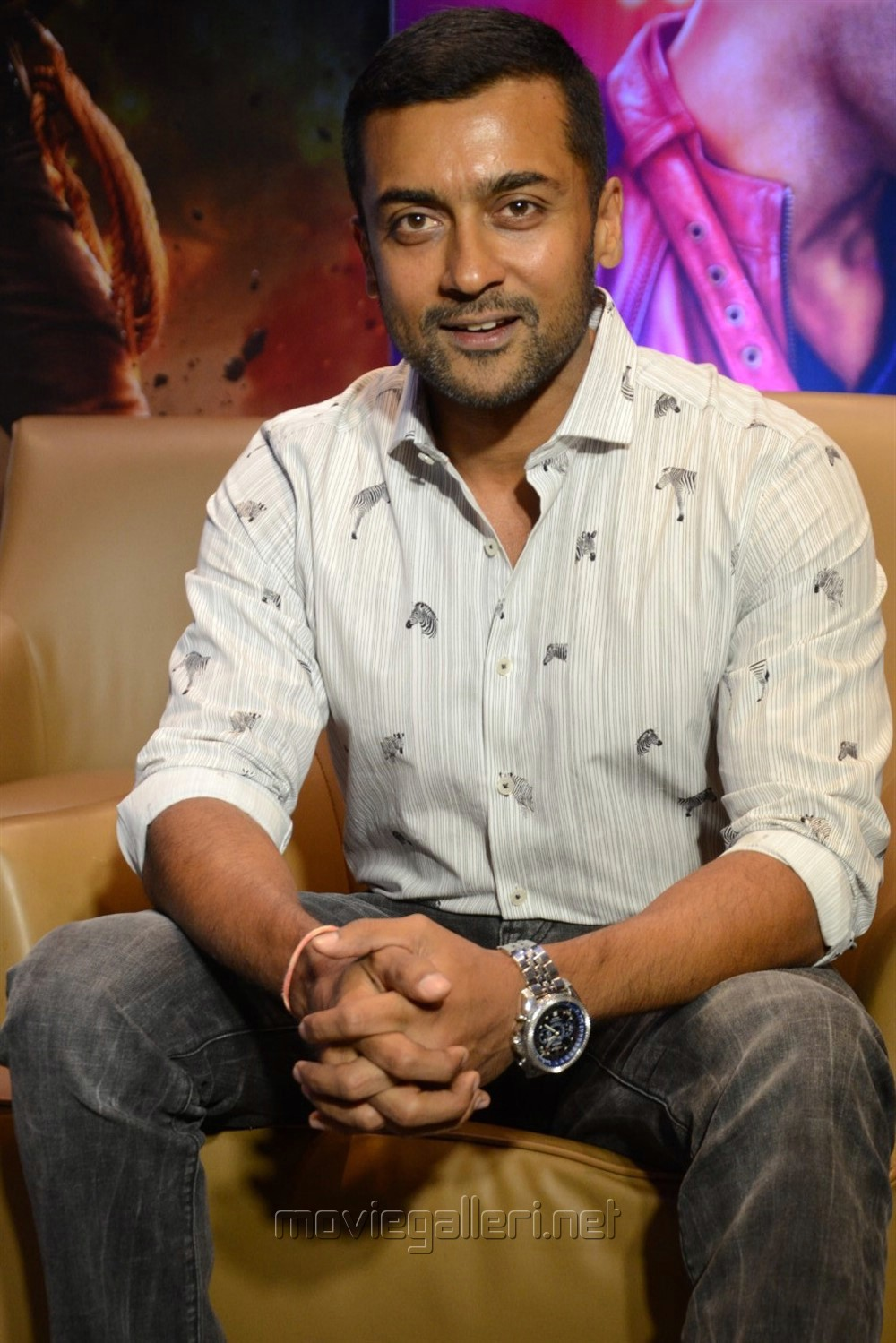 Actor Suriya New Images @ Bandobast Movie Interview