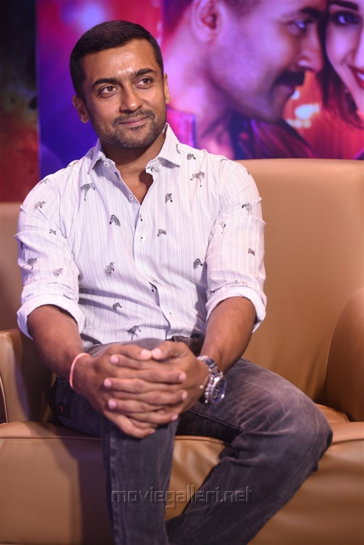 Bandobast Movie Hero Suriya Interview Images