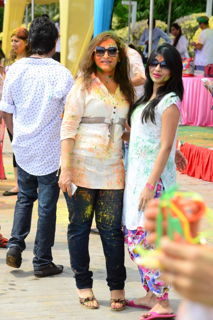 Bang Bang Holi Celebrations 2015 at Novotel, Hyderabad