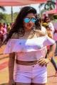 Actress Madhulagna Das Participated Grand Holi Bash at Novotel Airport