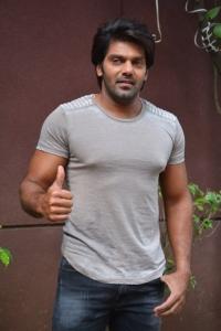 Actor Arya @ Bangalore Naatkal Movie Press Meet Stills