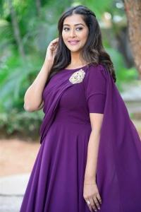 Actress Pooja Jhaveri @ Bangaru Bullodu Movie Trailer Launch Photos