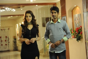 Diksha Panth, Dhanraj in Banthi Poola Janaki Movie Stills