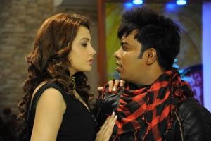 Diksha Panth, Chammak Chandra in Banthi Poola Janaki Movie Stills