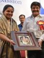 Nizamabad MP Kalvakuntla Kavitha, Balakrishna @ Basavatarakam Indo American Cancer Hospital 18th Anniversary Celebration Stills