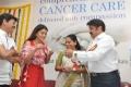 Shriya Saran, K Kavitha, Balakrishna @ Basavatarakam Indo American Cancer Hospital 18th Anniversary Celebration Stills