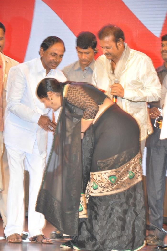 Picture 891948 k chandrashekar rao jayasudha mohan for K murali mohan rao wiki