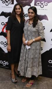 Archana Kalpathi @ Batman v Superman: Dawn of Justice Premiere Show at AGS Cinemas, T Nagar, Chennai