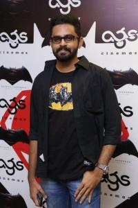 Balaji Mohan @ Batman v Superman: Dawn of Justice Premiere Show at AGS Cinemas, T Nagar, Chennai