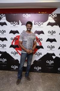Prem @ Batman v Superman: Dawn of Justice Premiere Show at AGS Cinemas, T Nagar, Chennai