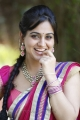 Cute and Beautiful Aksha Pardasany posing in Pink Saree