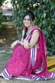 Beautiful Actress Aksha Saree Stills at Rai Rai Shooting Spot