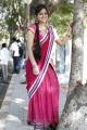 Rey Rey Movie Actress Aksha Beautiful Saree Stills