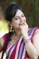Rai Rai Actress Aksha Beautiful Saree Stills