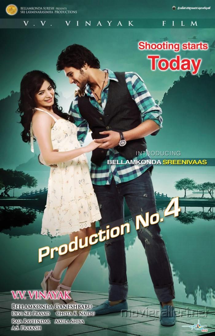 Samantha Bellamkonda Sreenivaas Movie Posters