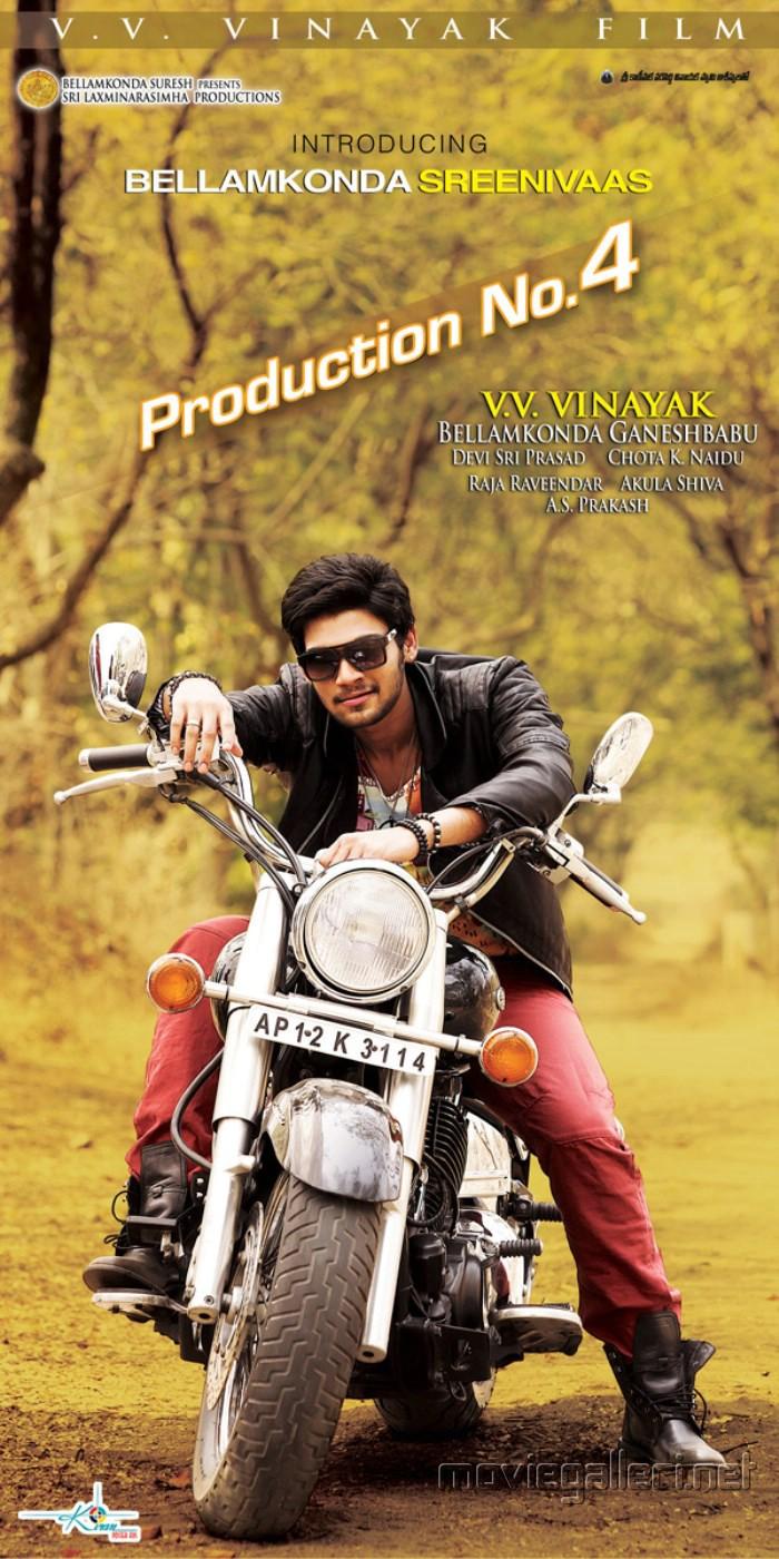 Bellamkonda Sreenivaas Movie Posters