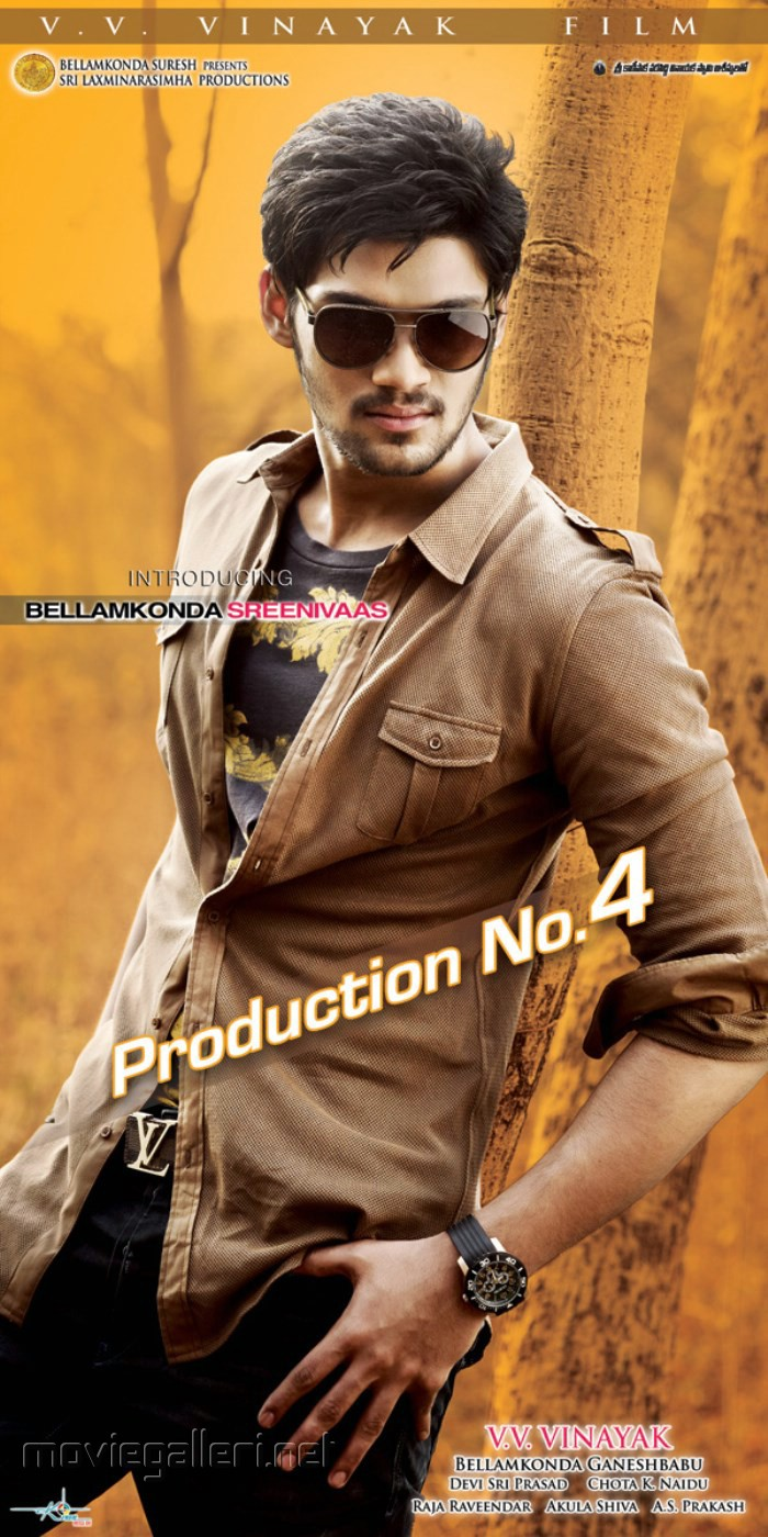 Bellamkonda Srinivas Movie Posters
