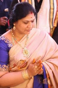 Bellamkonda Padma @ Bellamkonda Srinivas Vamsadhara Creations Movie Opening Stills