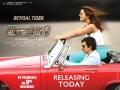 Ravi Teja, Rashi Khanna in Bengal Tiger Movie Release Posters