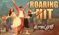 Rashi Khanna, Ravi Teja, Tamanna in Bengal Tiger Movie Roaring Hit Wallpaper