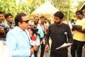 Brahmanandam, Sampath Nandi @ Bengal Tiger Movie Shooting Spot Photos