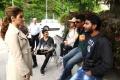 Tamanna, Ravi Teja, Sampath Nandi @ Bengal Tiger Movie Shooting Spot Photos
