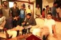Ravi Teja, Sampath Nandi, Sayaji Shinde @ Bengal Tiger Movie Shooting Spot Photos