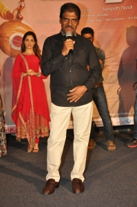 Producer KK Radha Mohan @ Bengal Tiger Video Songs Launch Stills