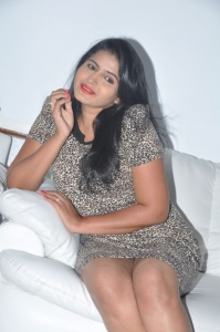 Actress Tanusha @ Bhadram Movie Premier Show Ticket Launch Stills