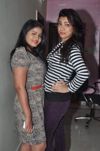 Tanusha, Parinidhi @ Bhadram Movie Premier Show Ticket Launch Stills