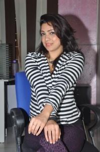 Actress Parinidhi @ Bhadram Movie Premier Show Ticket Launch Stills