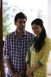 Ashok Selvan, Janani Iyer in Bhadram Telugu Movie Stills