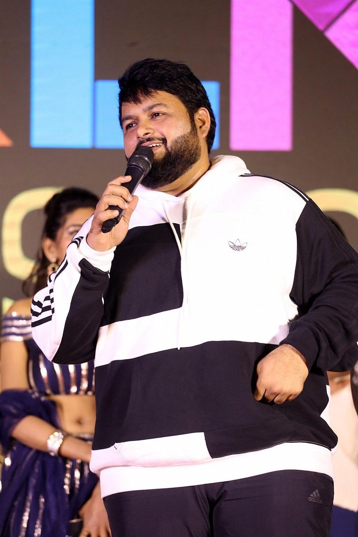 tHAMAN @ Bhagya Nagara Veedhullo Gammathu Pre Release Event Stills