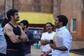 Nagarjuna, Veerabhadram @ Bhai Movie Shooting Spot Stills