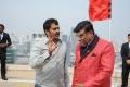 Veerabhadram, Ashish Vidyarthi @ Bhai Movie Shooting Spot Stills