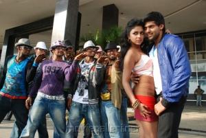 Arya Amala Paul Hot with Arya @ Bhale Thammudu Movie Stills
