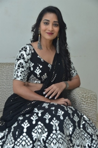 Actress Bhanu Sree Stills @ Nallamala Movie Teaser Launch