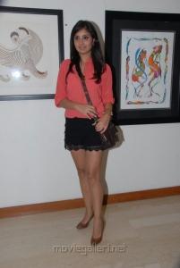 Bhanu Shree Mehra Hot Pics at Muse Art Gallery