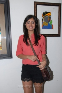 Bhanu Sri Mehra Latest Stills at Anandapriya Foundation's Paint Exhibition