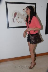 Actress Bhanu Sri Mehra Hot Pics at Muse Art Gallery