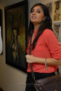 Bhanu Sri Mehra Stills @ MUSE Art Gallery, Hotel Marriott, Hyderabad