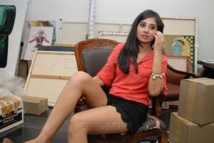 Actress Bhanu Sri Mehra Hot Legshow Images