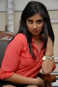 Bhanu Sri Mehra Hot Spicy Images in Red Shirt & Black Skirt