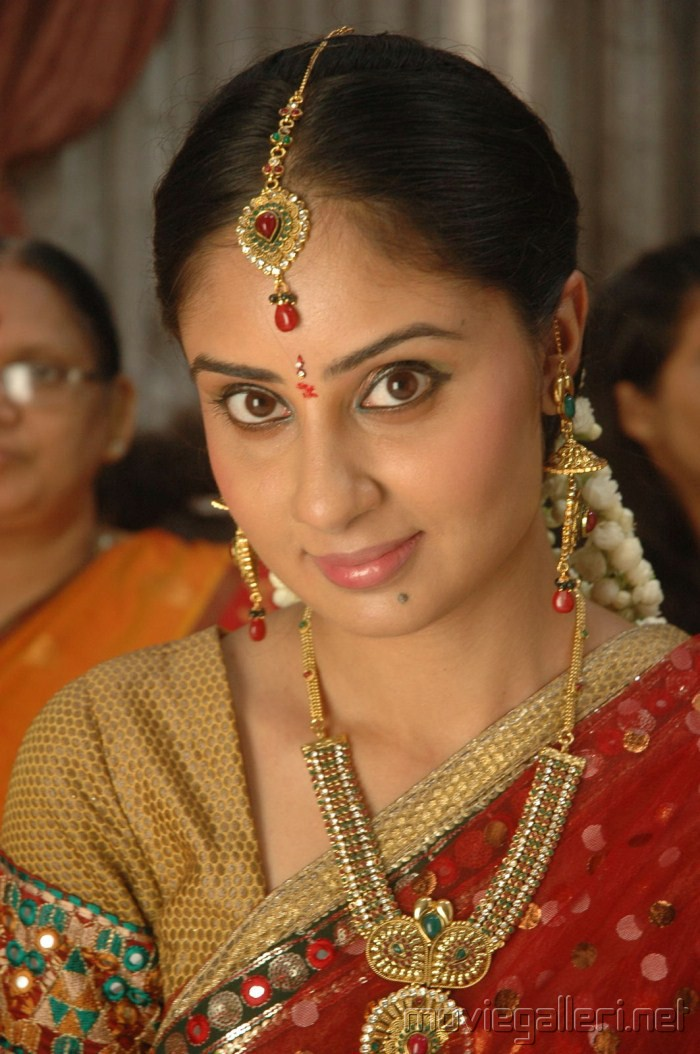 Bhanu Sri Mehra Saree Stills